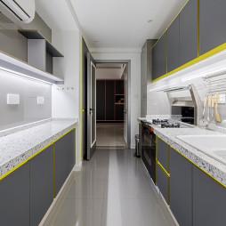 灰色系橱柜设计图