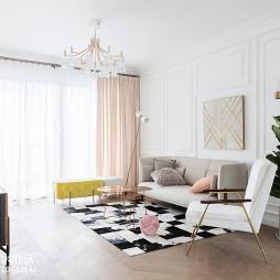 法式客厅设计图片