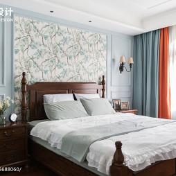 195平美式主卧室设计图