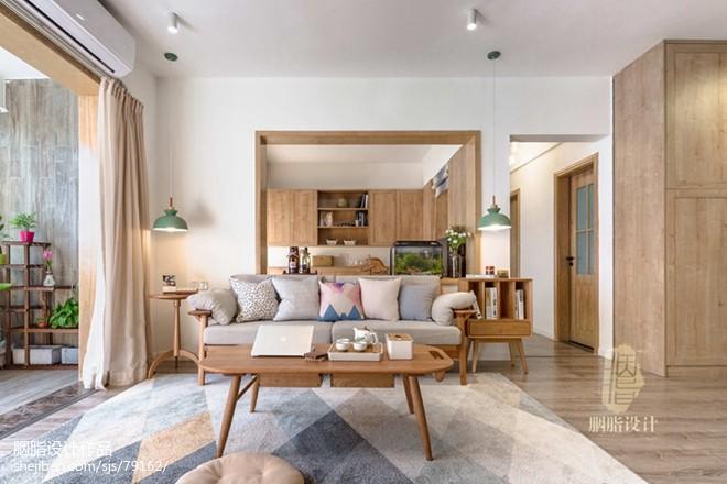日式客厅沙发设计图片