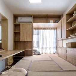 日式书房设计实景图片