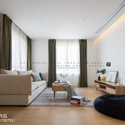 北欧三居小客厅设计图