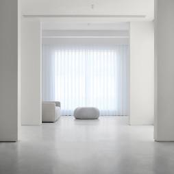 现代简约别墅客厅设计图