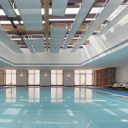 混搭风精品酒店游泳池设计图
