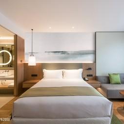 混搭风精品酒店房间设计图