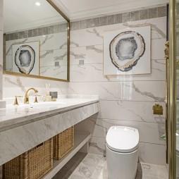 美式卫浴大理石设计图片