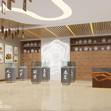 峰阁空间设计——西青槿熙堂中药店_3208919