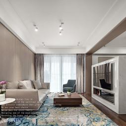 现代小型客厅设计图