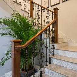 洋湖公馆别墅楼梯设计图