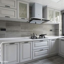 新装饰主义美式厨房设计图片