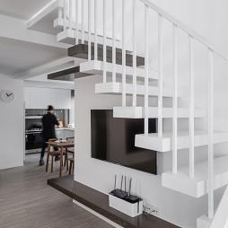 简约四居楼梯设计图