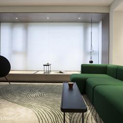 自然现代客厅设计图
