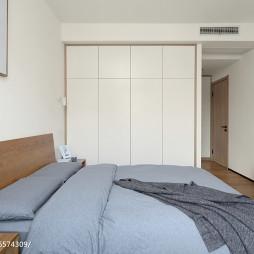 经典日式风卧室衣柜设计