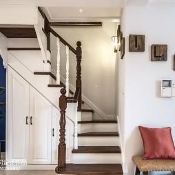 简爱美式楼梯设计