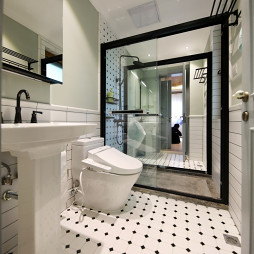 美式别墅卫浴设计实景