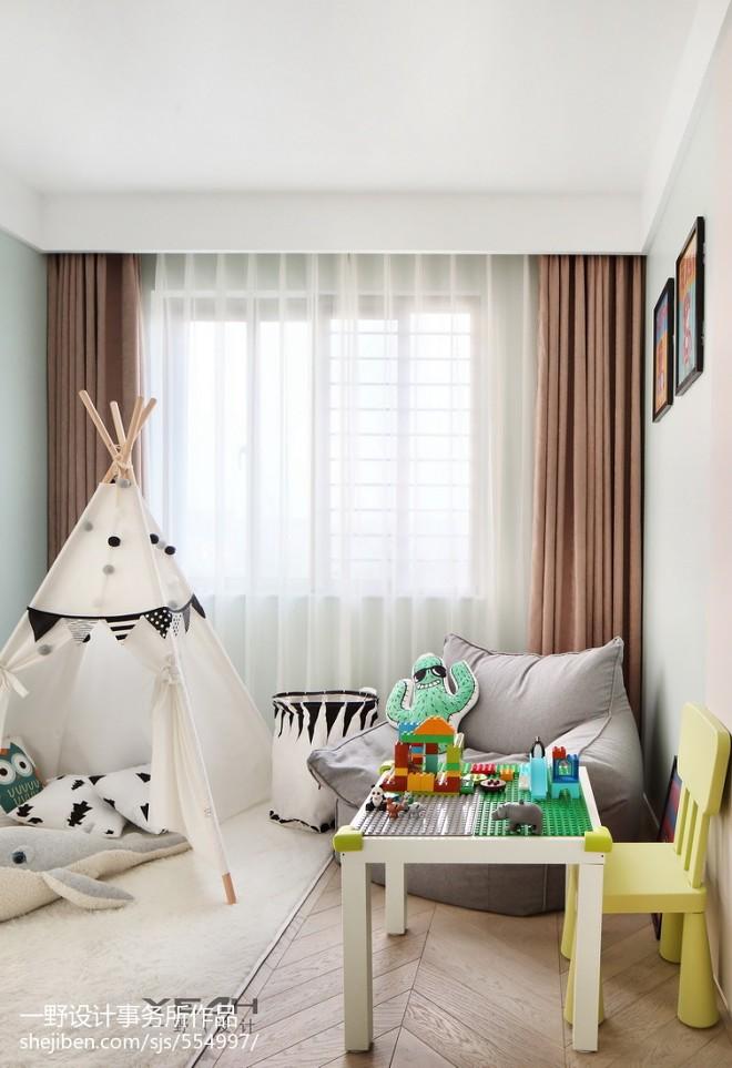 210m²简约风格儿童房设计