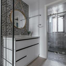 灰色调北欧卫浴设计