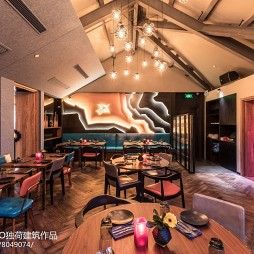 COLCA秘鲁西班牙餐厅吊顶设计