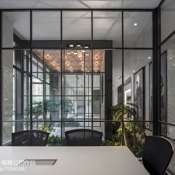 上海哈芙琳服装科技公司会议室设计