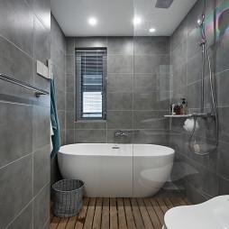 89平小户型卫浴设计