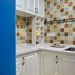简约美式厨房橱柜设计