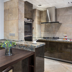柔和溫馨廚房設計