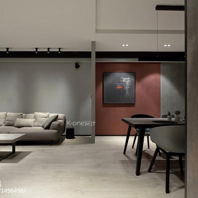 艺术感现代客厅设计