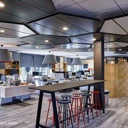 APAX创意办公室吧台设计