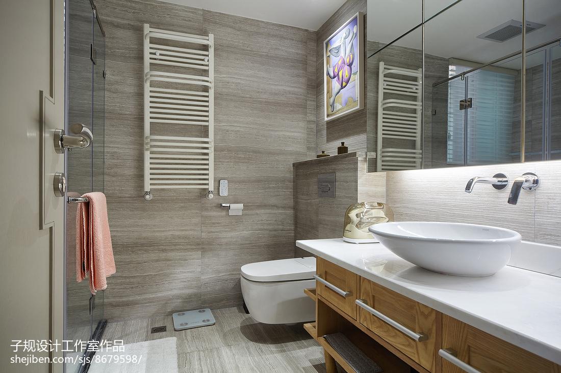 现代别墅卫浴设计