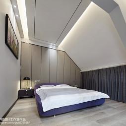 现代别墅大卧室设计