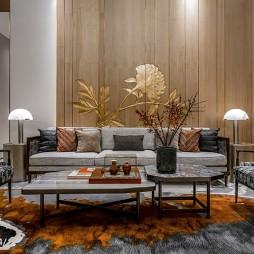 泰禾 · 金府大院别墅客厅设计