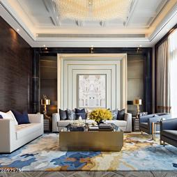大气现代别墅客厅设计图