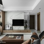 素·简客厅背景墙设计