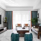 大气中式客厅设计