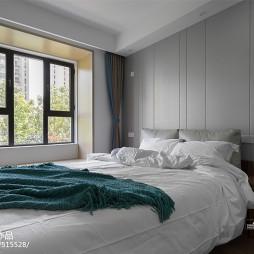 静谧简约卧室飘窗设计