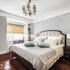 170㎡现代美式次卧设计图
