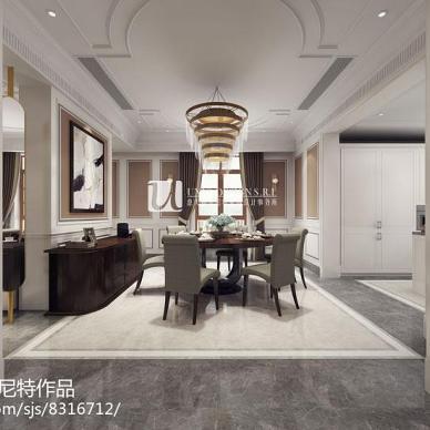 大华伊斐墅500㎡新古典软装设计-意大利尤尼特_3239365