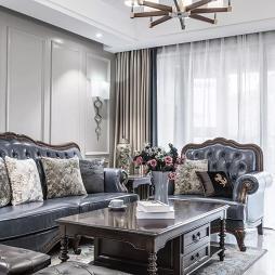 浪漫·美式客厅设计图
