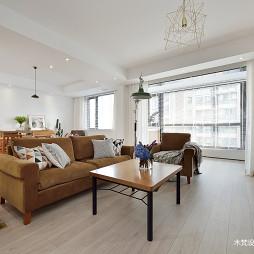 明亮简约客厅设计
