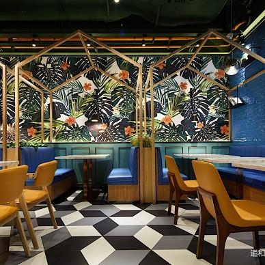 食儒餐厅卡座设计