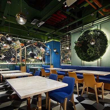 食儒餐厅绿植装饰设计图