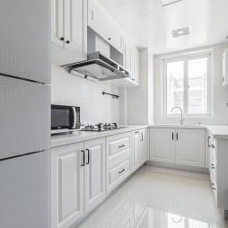 143㎡浅色调厨房设计图