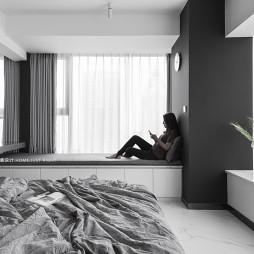 现代小户型飘窗设计
