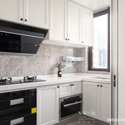 简单大方美式厨房设计图