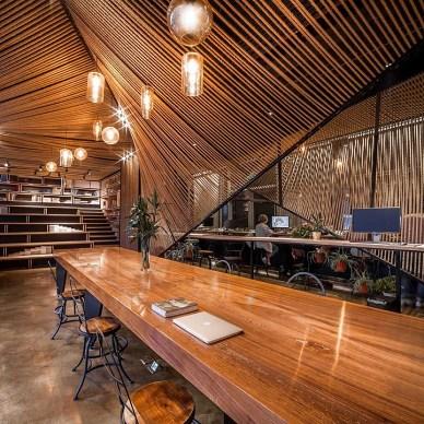 麻绳工作室休闲区设计图