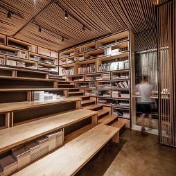 麻绳工作室阶梯储物设计