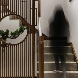 中式別墅樓梯設計