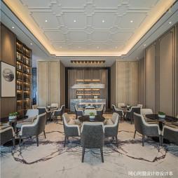 龙光悦景阳光禧园营销中心洽谈区设计