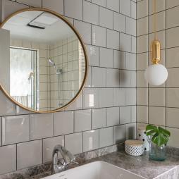 奢华美式卫浴洗手台设计图
