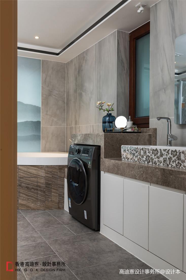 中式复式卫浴设计